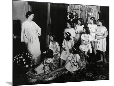 Dancer Isadora Duncan--Mounted Giclee Print