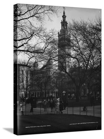 Madison Square, New York, C.1901--Stretched Canvas Print