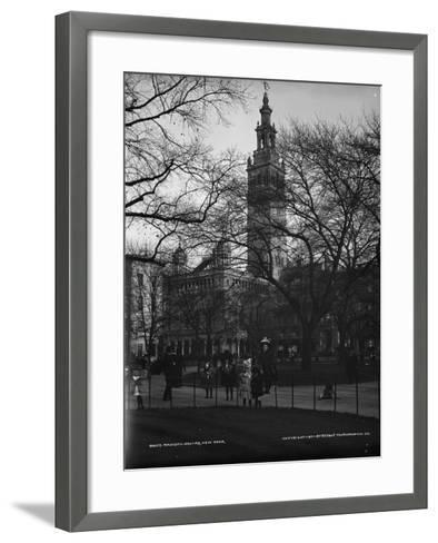Madison Square, New York, C.1901--Framed Art Print