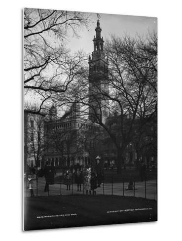 Madison Square, New York, C.1901--Metal Print