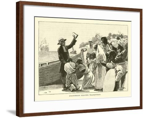 Ziegenbalg Leaving Tranquebar--Framed Art Print