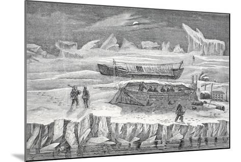 Bivouac in Boats, Pub. London 1874--Mounted Giclee Print