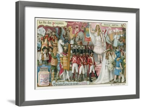 The Grand Procession--Framed Art Print
