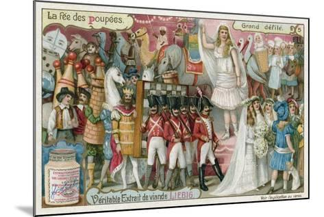 The Grand Procession--Mounted Giclee Print