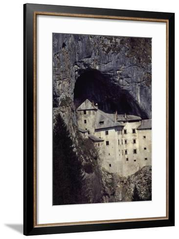 Predjama Castle--Framed Art Print