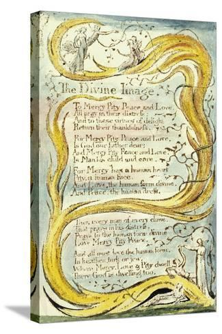 The Divine Image, 1789-William Blake-Stretched Canvas Print