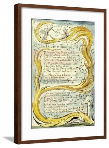 The Divine Image, 1789-William Blake-Framed Art Print