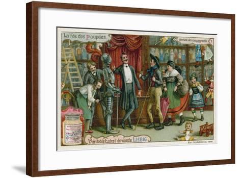 Arrival of the Country Folk--Framed Art Print