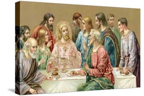 The Last Supper--Stretched Canvas Print