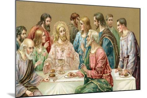 The Last Supper--Mounted Giclee Print