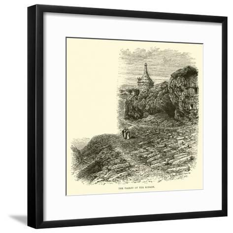 The Valley of the Kidron--Framed Art Print