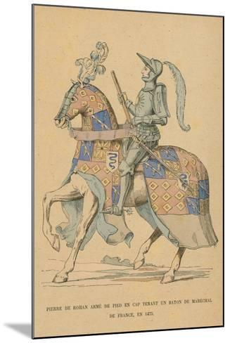 Pierre De Rohan--Mounted Giclee Print