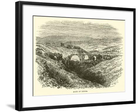 Ruins of Gerasa--Framed Art Print