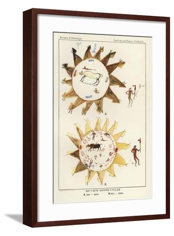 Battiste Good's Cycles--Framed Art Print
