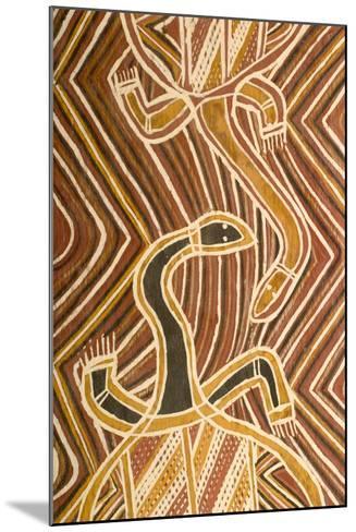 Aboriginal Design--Mounted Giclee Print
