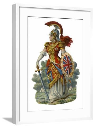 Britannia--Framed Art Print