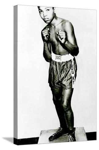 Muhammad Ali, Aged 12--Stretched Canvas Print