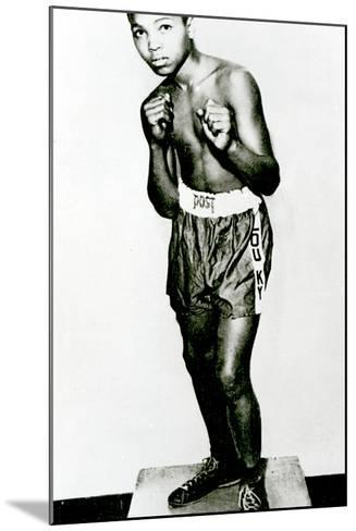 Muhammad Ali, Aged 12--Mounted Photographic Print