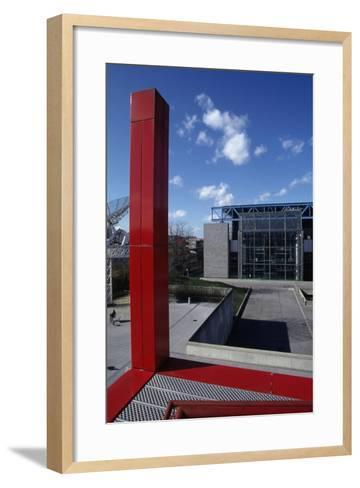 City of Sciences and Industry--Framed Art Print