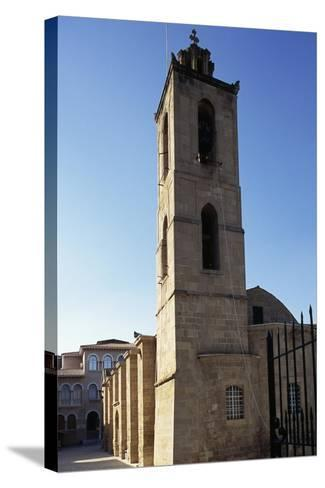 Bell Tower, Cathedral of Agios Ioannis--Stretched Canvas Print
