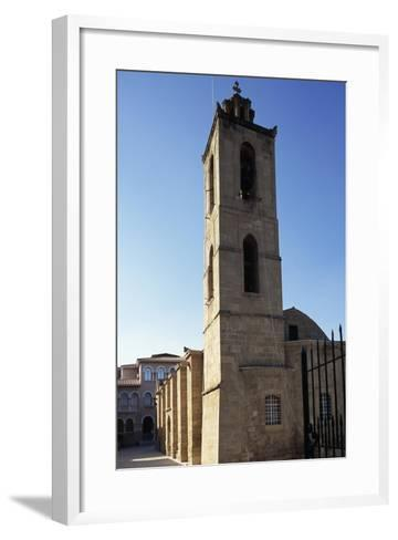 Bell Tower, Cathedral of Agios Ioannis--Framed Art Print