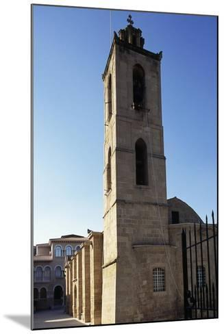 Bell Tower, Cathedral of Agios Ioannis--Mounted Giclee Print