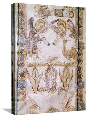 Angel Figures, Miniature from Exultet--Stretched Canvas Print