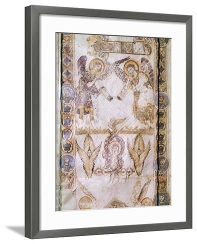 Angel Figures, Miniature from Exultet--Framed Art Print