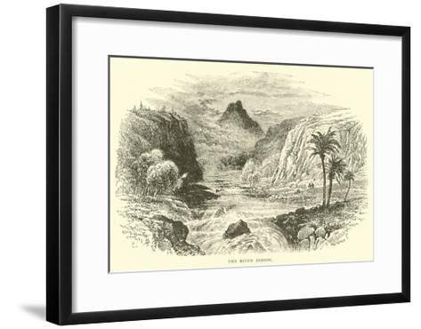 The River Jabbok--Framed Art Print