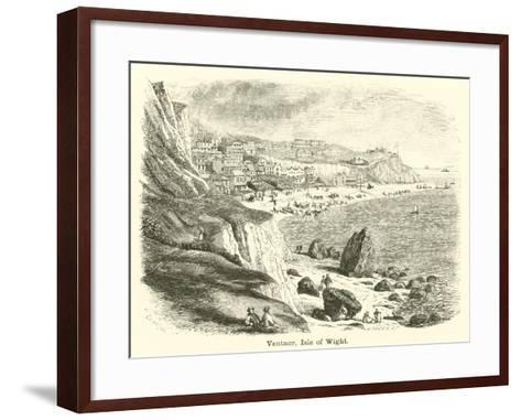 Ventnor, Isle of Wight--Framed Art Print