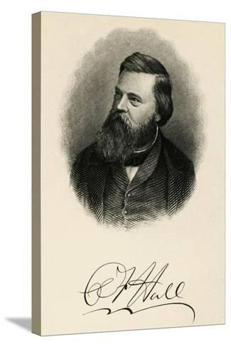 Portrait of Charles Francis Hall--Stretched Canvas Print