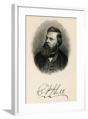 Portrait of Charles Francis Hall--Framed Art Print