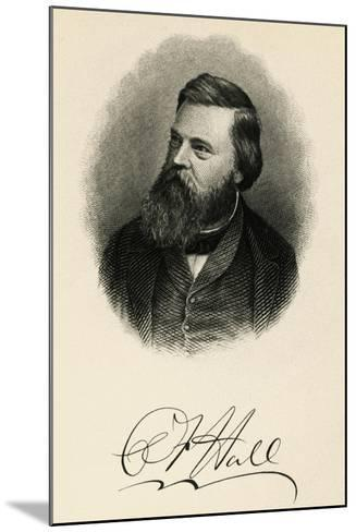 Portrait of Charles Francis Hall--Mounted Giclee Print