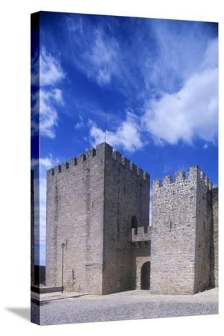Portugal, Portalegre, Elvas Castle--Stretched Canvas Print