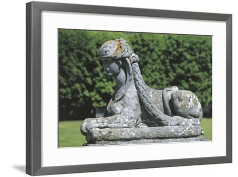 France - ?le-De-France - Palace of Fontainebleau--Framed Art Print