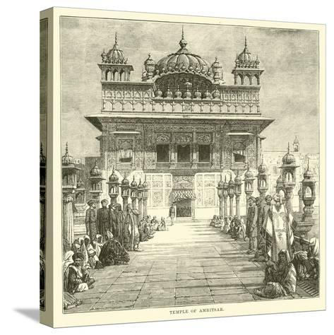 Temple of Amritsar--Stretched Canvas Print