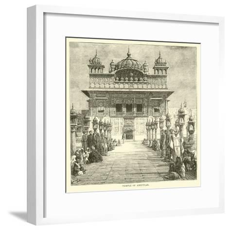 Temple of Amritsar--Framed Art Print