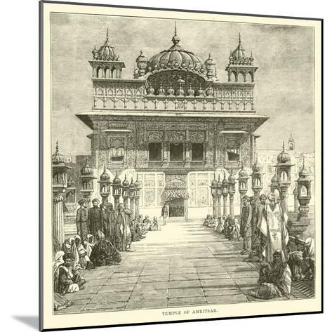 Temple of Amritsar--Mounted Giclee Print