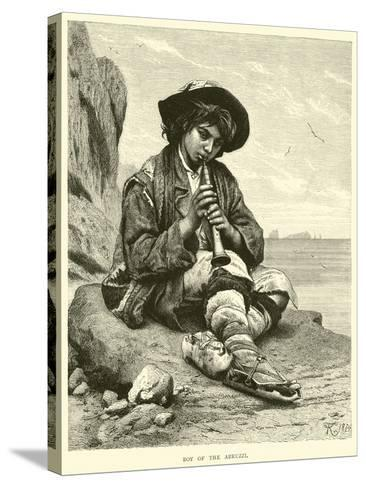 Boy of the Abruzzi--Stretched Canvas Print