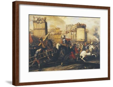Assault on Fortress--Framed Art Print