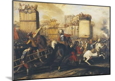 Assault on Fortress--Mounted Giclee Print