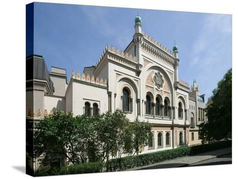 Spanish Synagogue, Prague, Czech Republic--Stretched Canvas Print