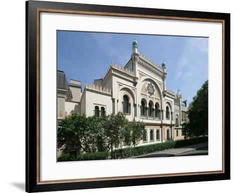 Spanish Synagogue, Prague, Czech Republic--Framed Art Print