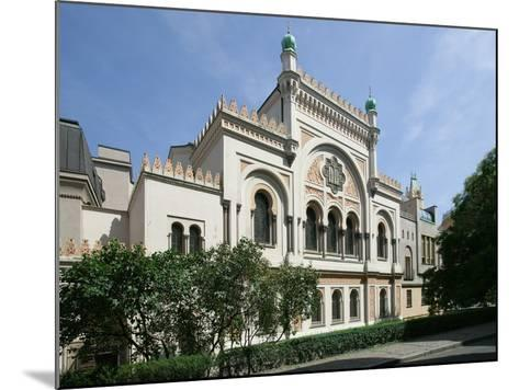 Spanish Synagogue, Prague, Czech Republic--Mounted Photographic Print