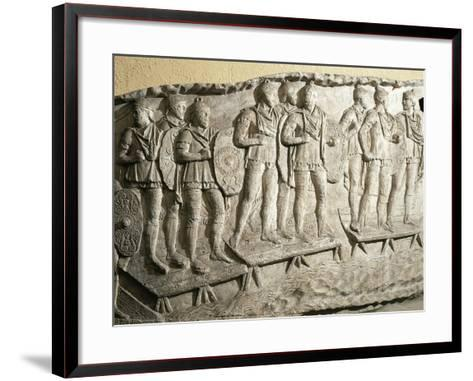 Model of Trajan's Column--Framed Art Print