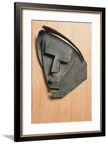 Mask of Outline of Little Montserrat-Julio Gonzalez-Framed Art Print