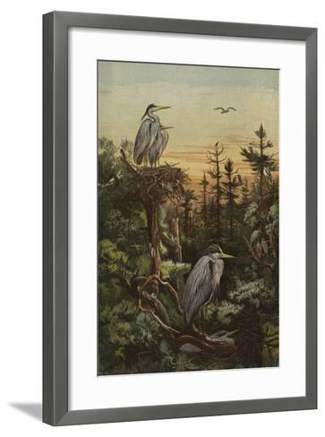 An Elevated Home--Framed Art Print