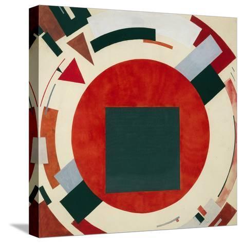 Proun, Circa 1922, El Lissitzky-El Lissitzky-Stretched Canvas Print