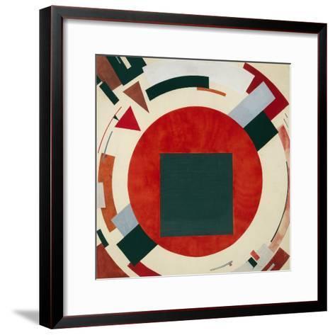Proun, Circa 1922, El Lissitzky-El Lissitzky-Framed Art Print