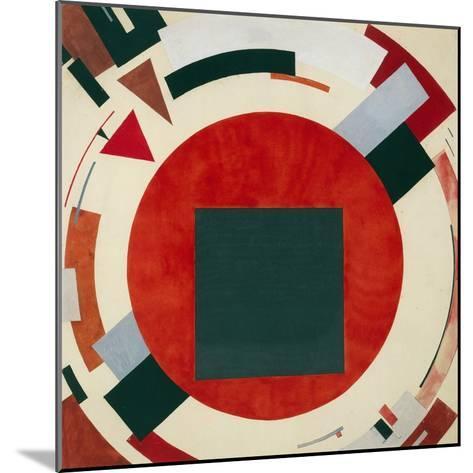 Proun, Circa 1922, El Lissitzky-El Lissitzky-Mounted Giclee Print